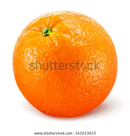 Shutterstock Orange fruit isolated on white