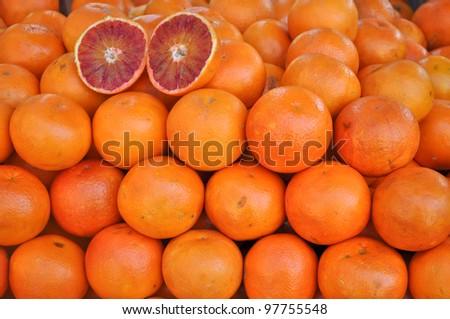 Orange fruit or citrus vegetarian cuisine food