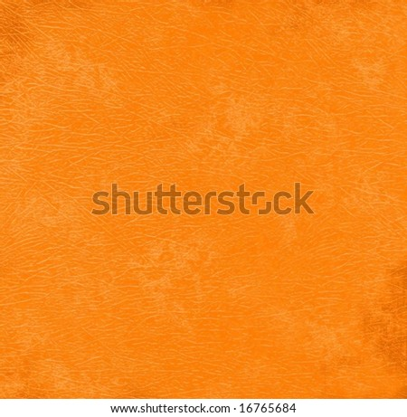 Orange grunge background paper