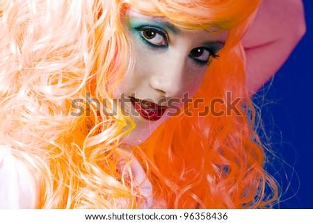 Orange haired fairy teen #96358436