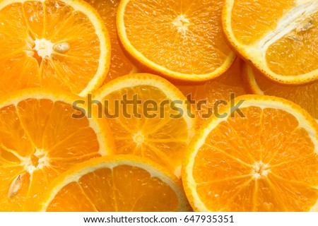 Orange, half of orange, orange lobule , orange background #647935351