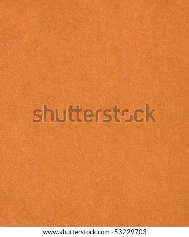 Orange Handmade Paper - stock photo