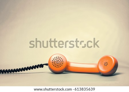 Orange handset