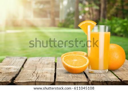 Orange juice. #611045108
