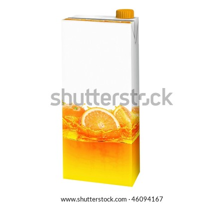 cartons of orange juice. stock photo : orange juice