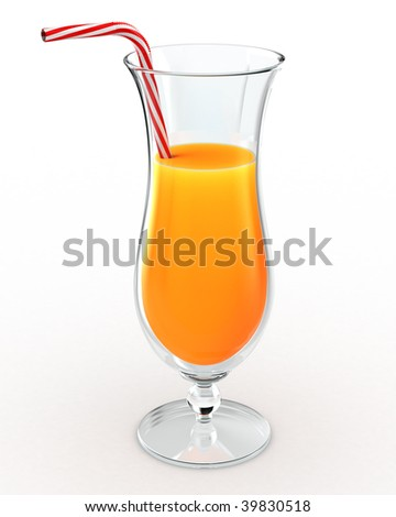 Orange juice drink
