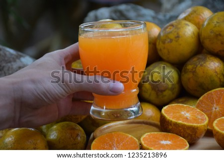 orange Juice,orange crush #1235213896