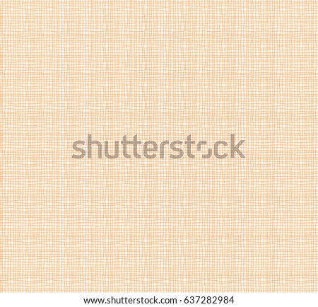 Orange line net pattern abstract background, fabric painting design.