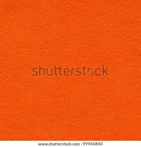 Orange microfiber textile texture. Background for design