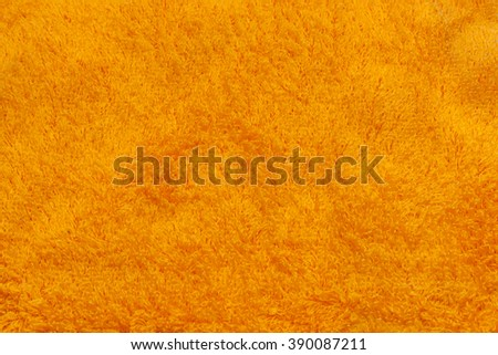 Orange nappy mat