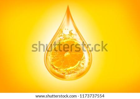 orange oil, orange juice