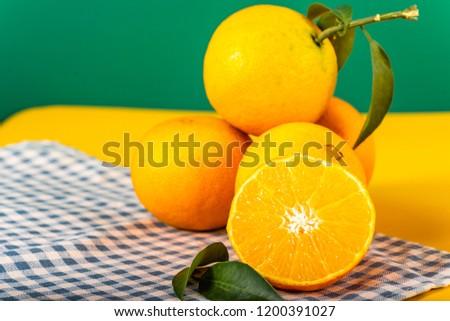 Orange, orange, orange, citrus #1200391027