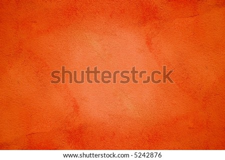 orange painted wall texture