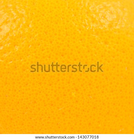 orange peel close up