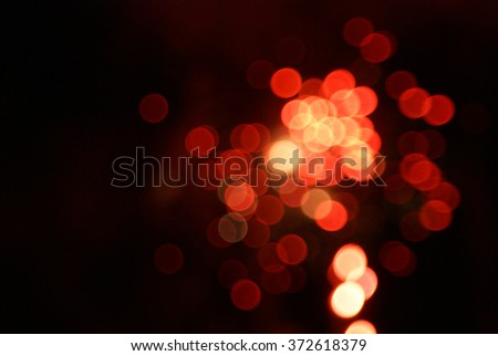 Orange Red Light Close Up Abstract Background Real Picture Zoomed and Blurred