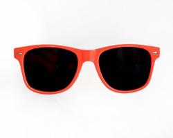 Orange / Red Sunglasses white backgound
