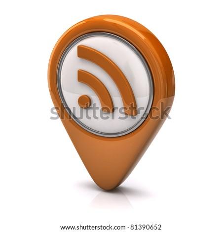 Orange rss icon