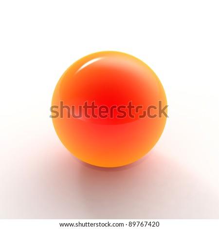 Orange Shiny Balls