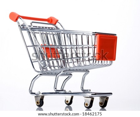 orange shopping cart