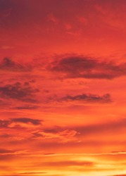 Orange Sky in Costa Rica