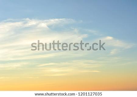 Orange sky in the morning. #1201127035