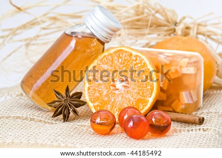orange spa products