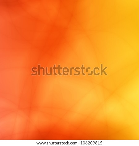 Orange summer abstract background
