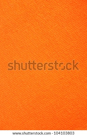 Orange towel texture as a background.