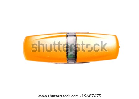 Orange usb flash