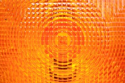 orange vehicle reflector texture background