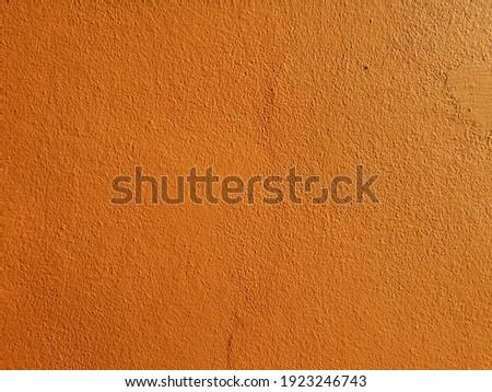 orange  wall for background. Rusty damaged to surface wall for background. Wall texture for vintage background. Zdjęcia stock ©