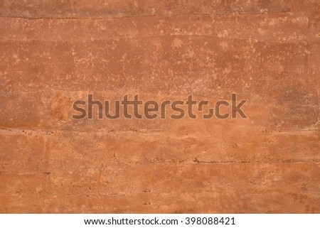 orange wall texture background - Terracotta wall