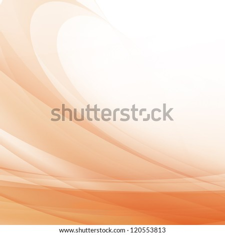 Orange Wave Design Orange Wave Background Design