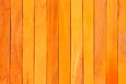 orange wood fence plank texture background