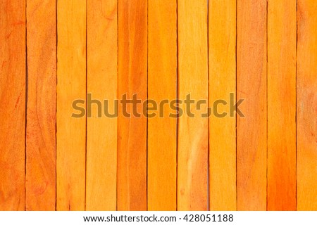 orange wood fence plank texture background #428051188