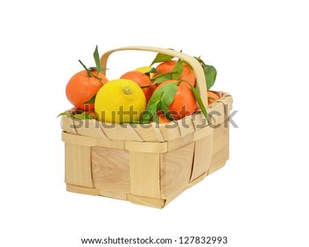Oranges and Lemons - stock photo