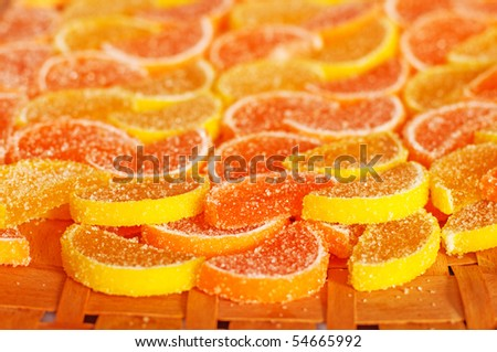 Oranges and lemons sweet