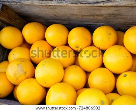 Oranges in Crate #724806502