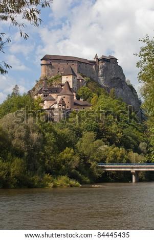 Orava Castle in summer, Slovakia, Europe