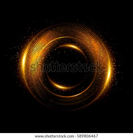 Orb neon rays. luminous hole. Spiral beam cover.  Black neural HUD. Halo around. Power isolated. Sparks particle. Space tunnel. Glossy face. LED color ellipse. Glint  glitter. Glow clock