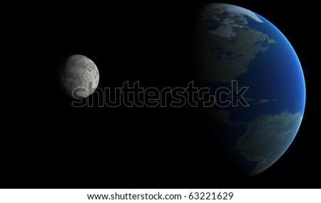 Orbit view