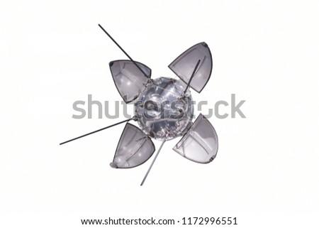 Orbital spacecraft satellite