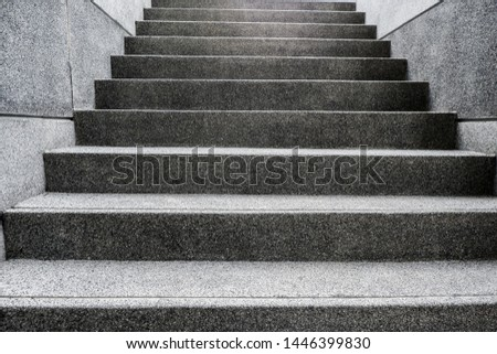 Order of height of cement steps