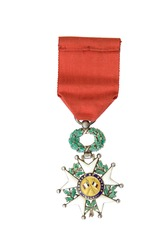 Order of Honour from 1870 to 1951 (silver, gold, enamel). France's highest award. It was establish by Napoleon Bonaparte in 19 may 1802.