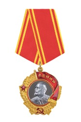 Order of Lenin with the inscription