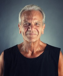 Ordinary Elderly Man Portrait