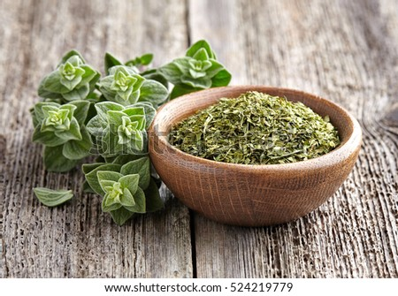 Shutterstock Oregano.Fresh and dry
