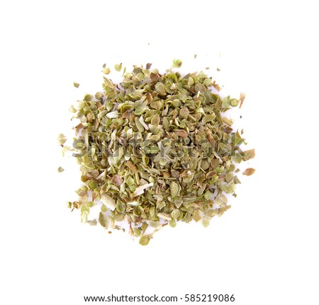 Oregano isolated on white #585219086
