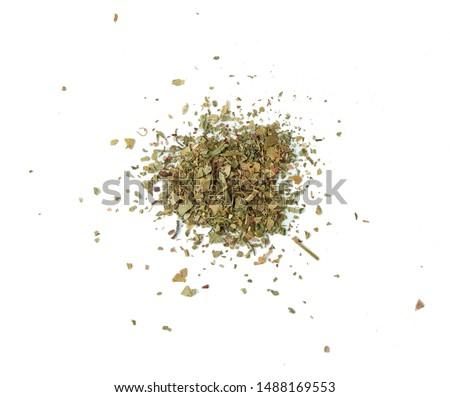 Oregano spice isolated on white background Stock photo ©