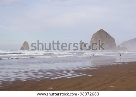Oregon Cannon Beach Haystack Rock